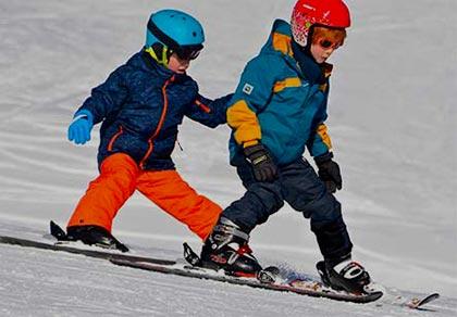 Bardonecchia per i bambini sci e snowtubing