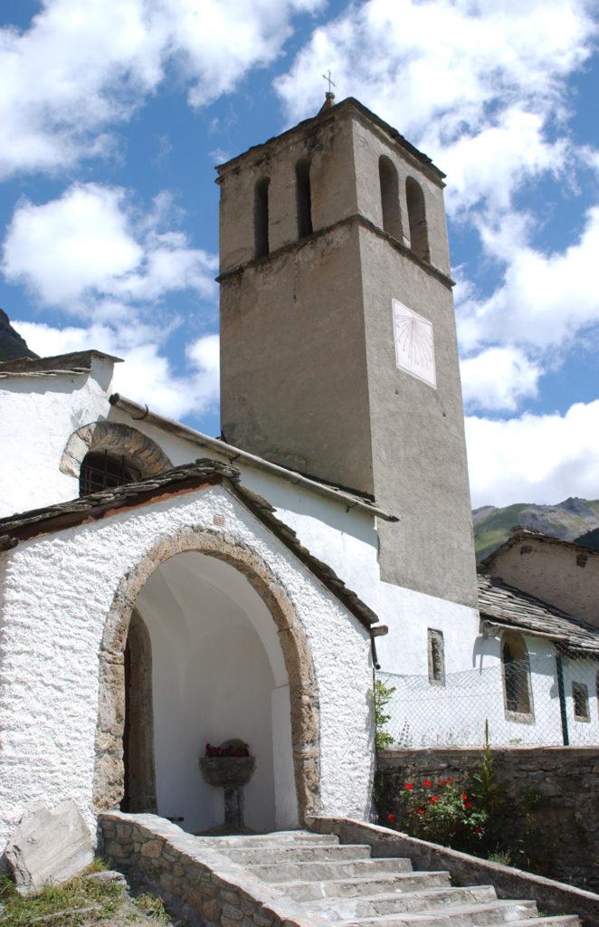 Chiesa Parrocchiale S.Pietro Apostolo (XIII sec) rochemolles Bardonecchia