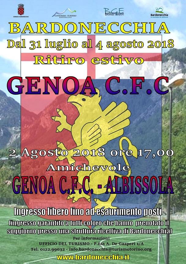 Il Genoa C.F.C. a Bardonecchia – Ritiro precampionato 2018