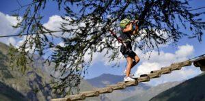 parco avventura per bambini a Bardonecchia - Adventure Park