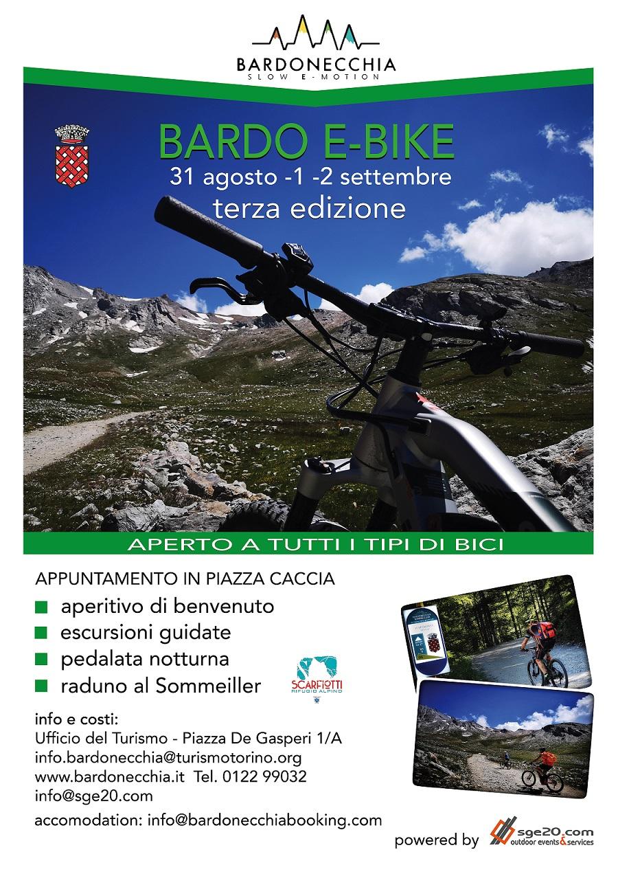 Bardo E-bike, bicicletta, e-bike, pedalata assistita nella splendida cornice di Bardonecchia, agosto 2018