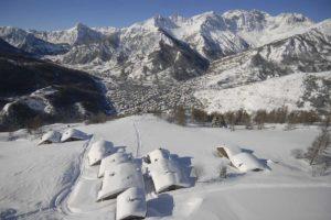 Paesaggio invernale Bardonecchia