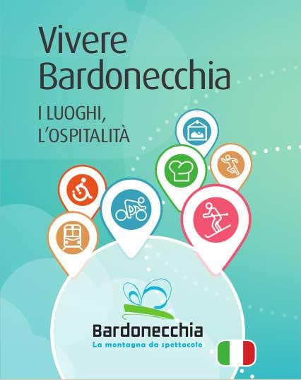 Nuova cartina toponomastica turistica di Bardonecchia