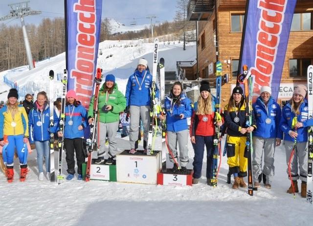 Sci alpino: Campionati Italiani Giovani femminile di Discesa libera