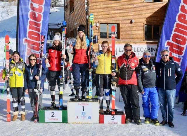 Sci alpino Bardonecchia - Podio-della-Combinata-FIS-(Foto-Gian-Spagnolo)