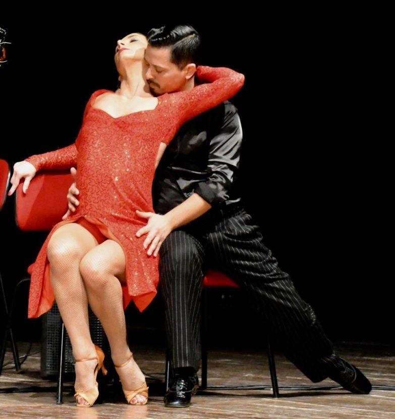 Tango Rosso Argentina I ballerini (Foto Gian Spagnolo)