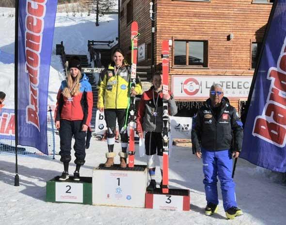 Sci alpino Bardonecchia - Trofeo-Colomion.-Podio-Combinata-Alpina-FIS-Aspiranti-(Foto-Gian-Spagnolo)