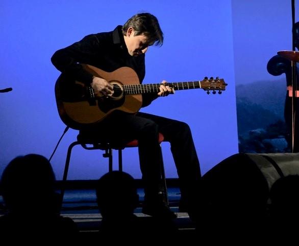 Antonio Di Salvo, chitarre (Foto Gian Spagnolo)
