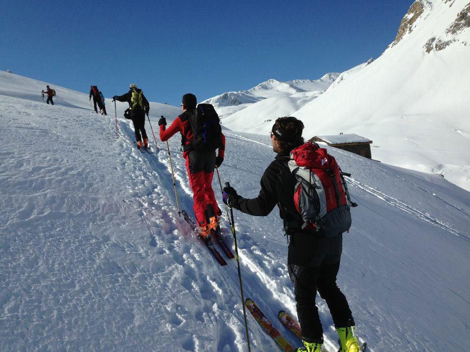 Sci Alpinismo a Bardonecchia