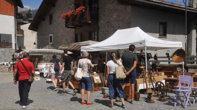 Bardonecchia: mercatino antiquariato estate 2019