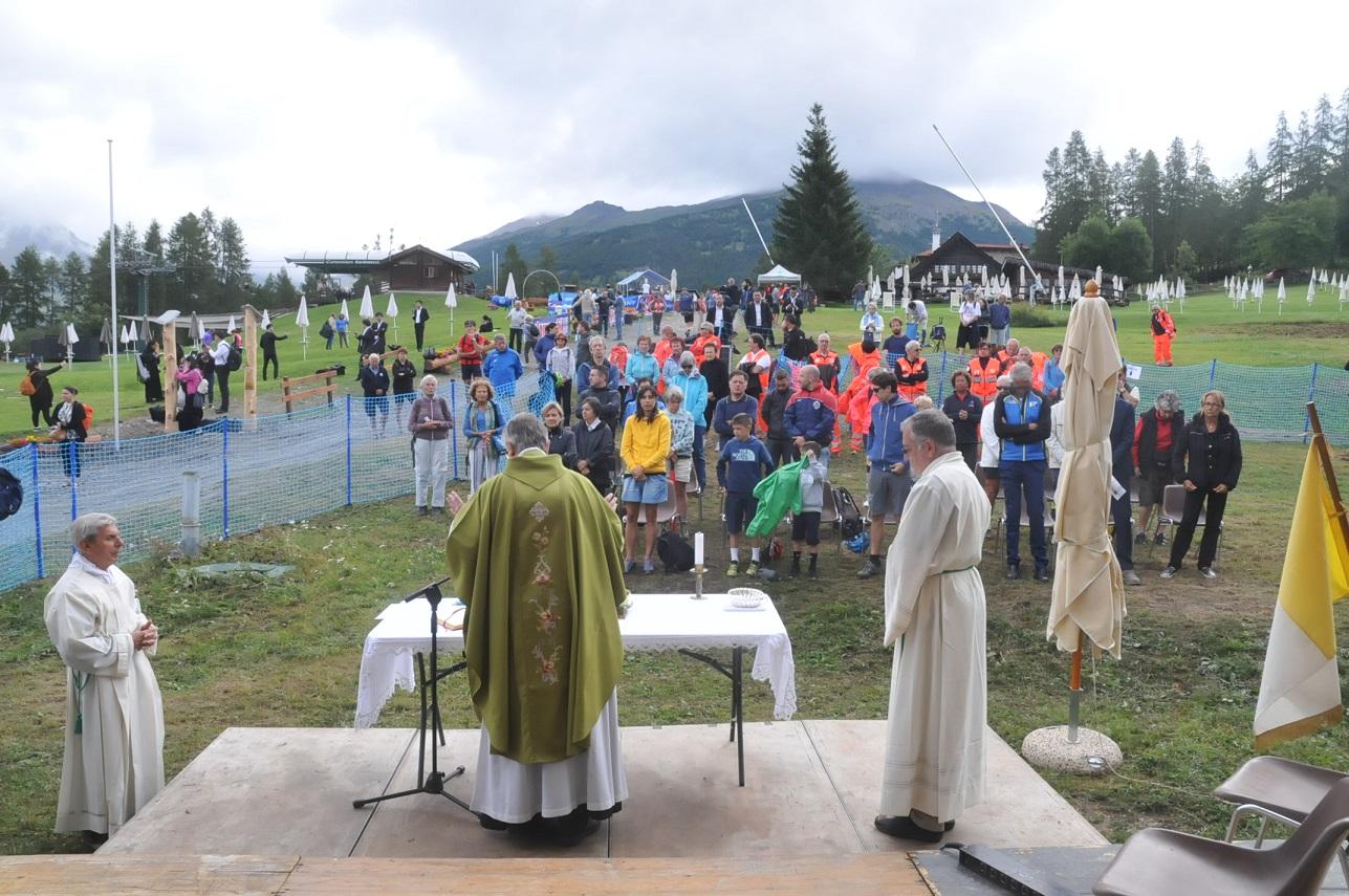 Celebrazione Liturgica in memoria di Mario Pisano allla XX edizione del concerto in altura