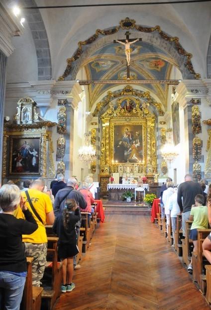 Melezet, interno chiesa Foto Gian Spagnolo