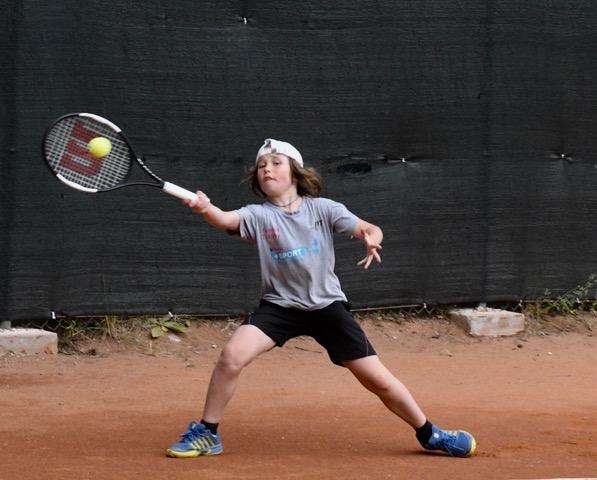 Il bardonecchiese Marco Piacentini, vincitore tra gli Under 10