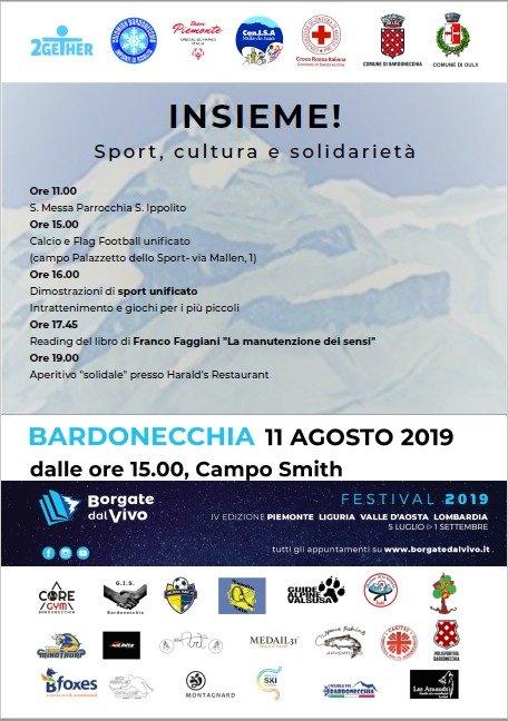 INSIEME! Sport, cultura e solidarietà - Bardonecchia