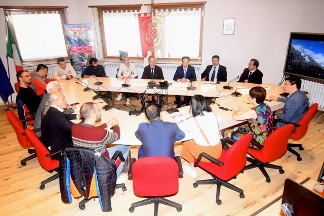 CS Delegazione cinese in visita a Bardonecchia Foto Gian Spagnolo 19