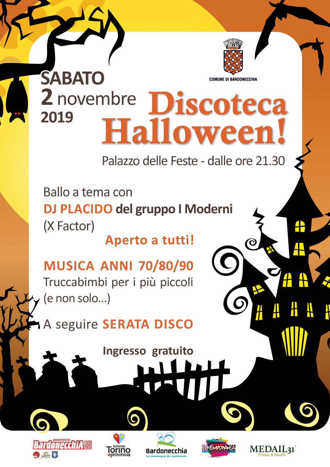 Bardonecchia eventi - Discoteca Halloween