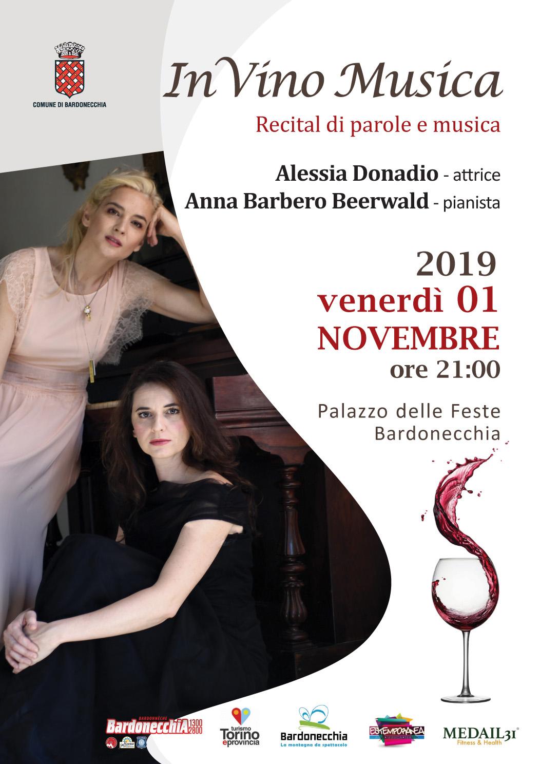 Bardonecchia eventi - In vino musica - 1°novembre