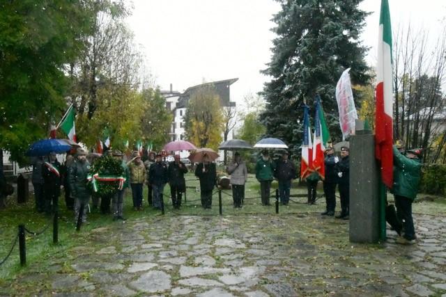 Bardonecchia - 101° Anniversario della Vittoria Foto Gian Spagnolo
