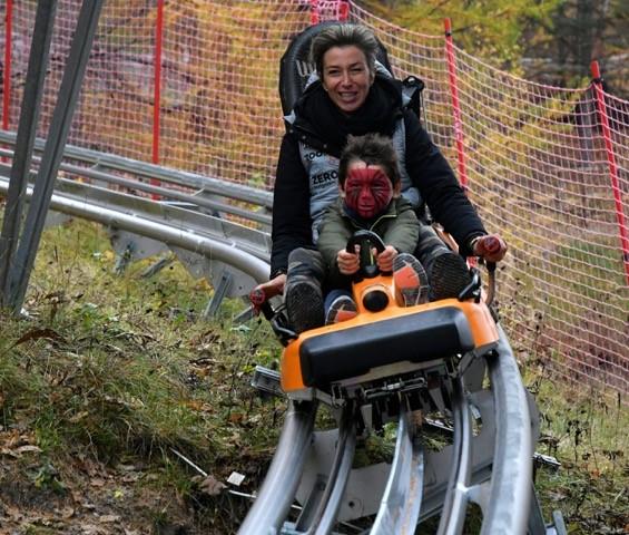 Alpine Coaster Bardonecchia - Halloween 2019