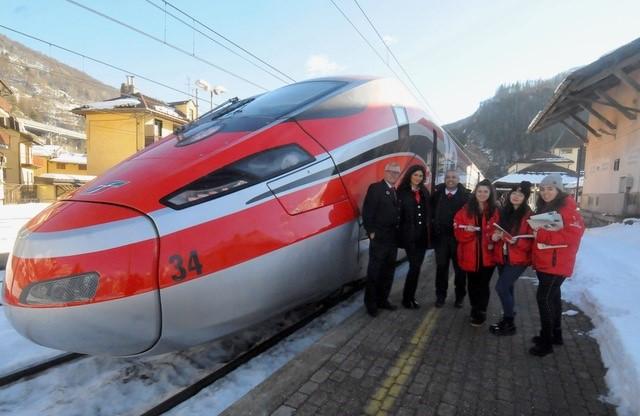 Frecciarossa, viaggio inaugurale Napoli-Bardonecchia
