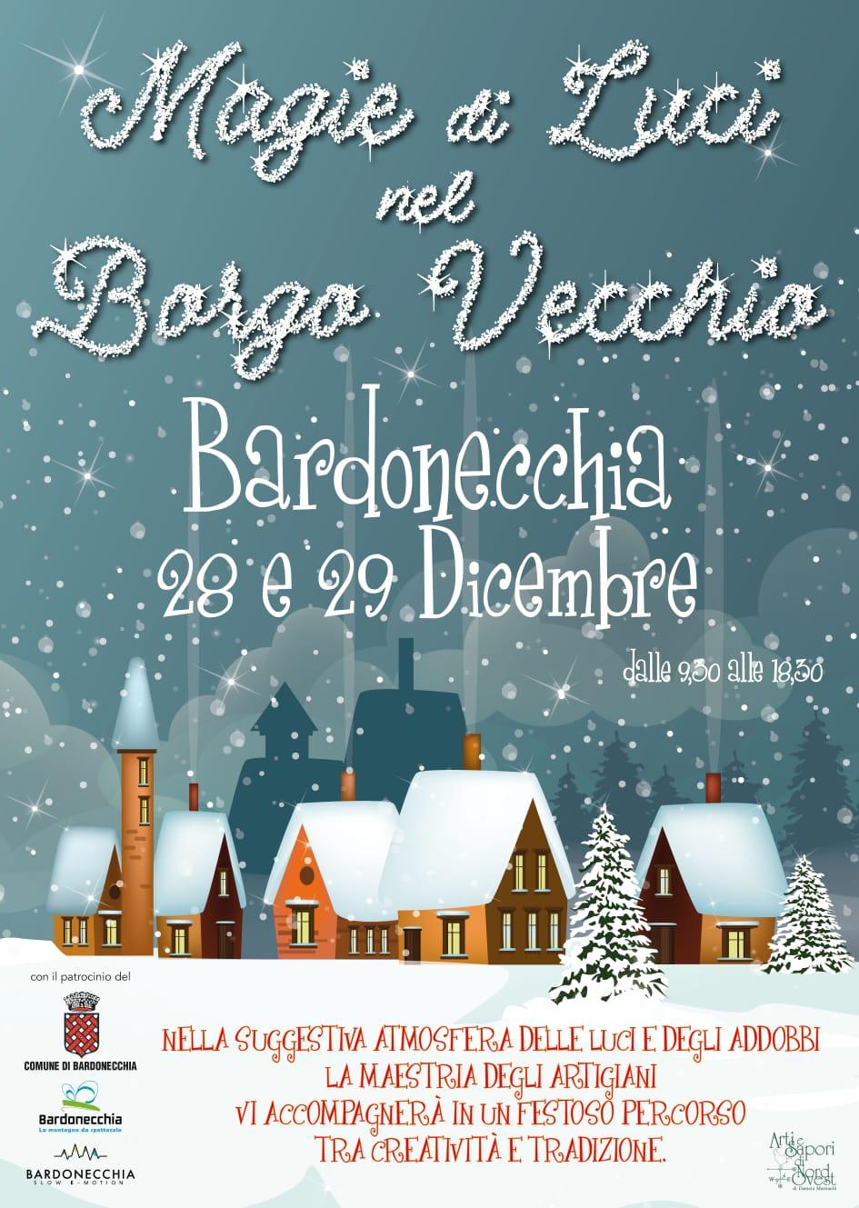 Mercatino Magie di Luci Borgovecchio - Bardonecchia