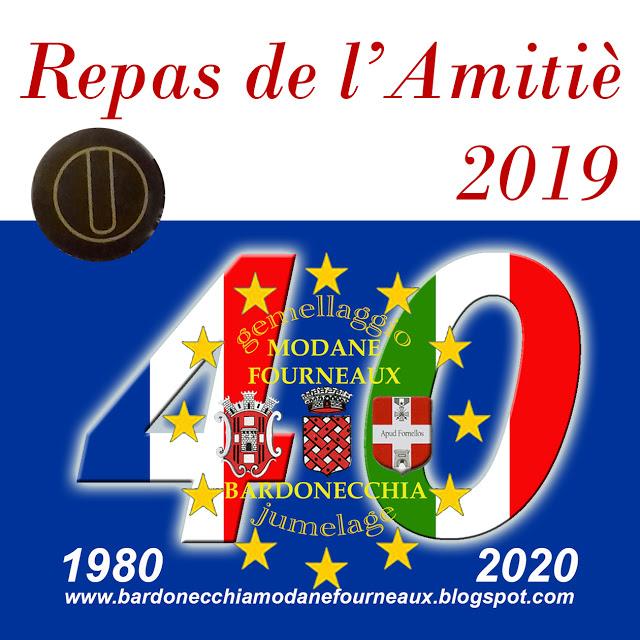Bardonecchia: Repas de l'Amitiè - Pranzo dell'amicizia 2019