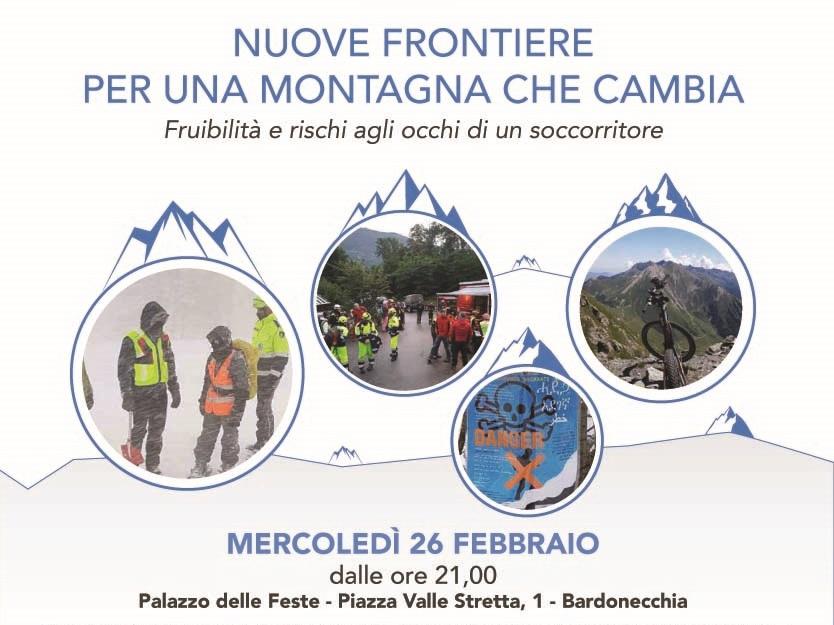 """Convegno: """"Nuove frontiere per una montagna che cambia: fruibilità e rischi agli occhi di un soccorritore"""""""