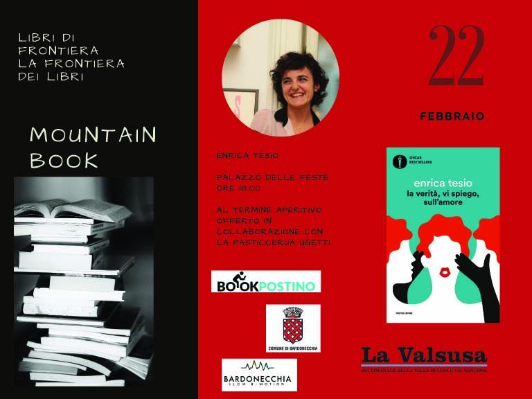 MOUNTAIN BOOK - Erica Tesio presenta il suo ultimo libro