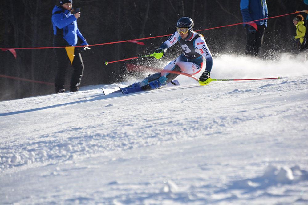 Allenamento nazionale sci slalom per coppa del mondo - Bardonecchia