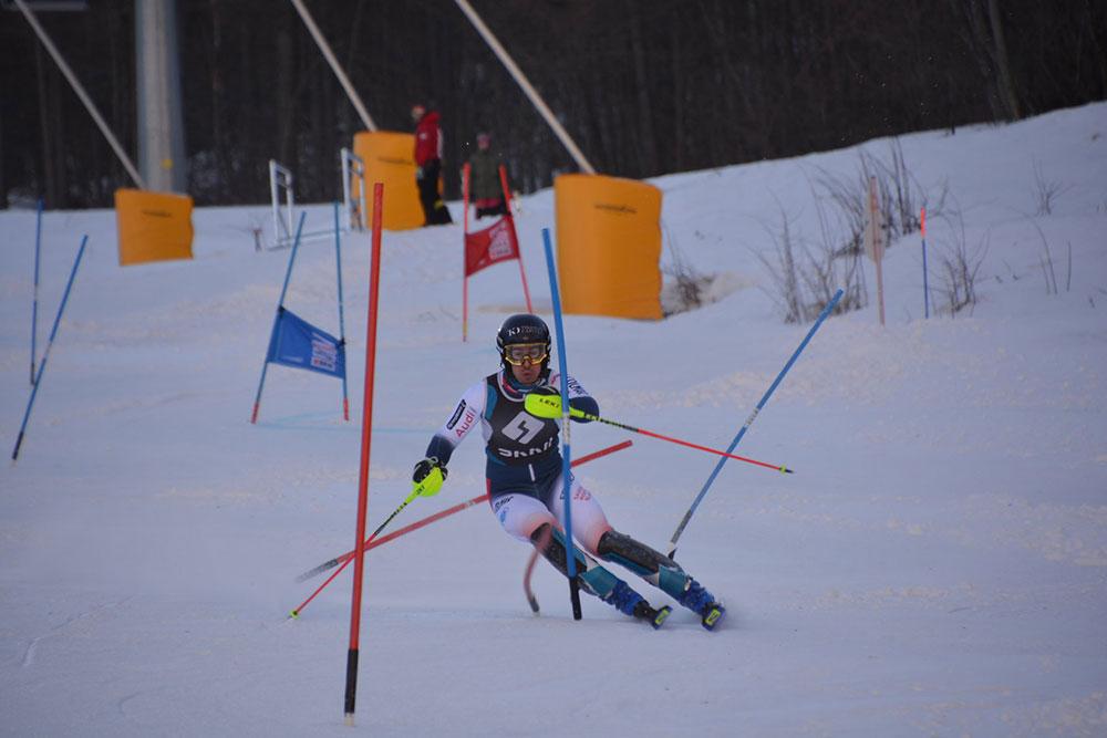 Slalom: allenamento sulle piste di Melezet - Bardonecchia