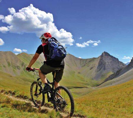 Mountain bike a Bardonecchia