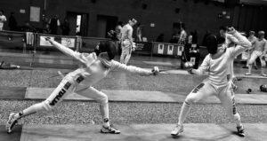 Bardonecchia Vera Perini, in azione a sinistra