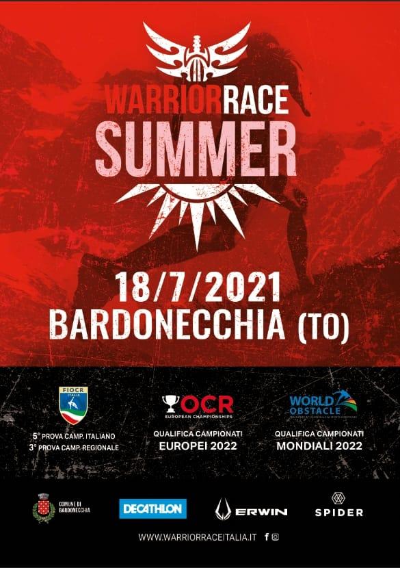DOMENICA 18 LUGLIO: WARRIOR RACE SUMMER EDITION